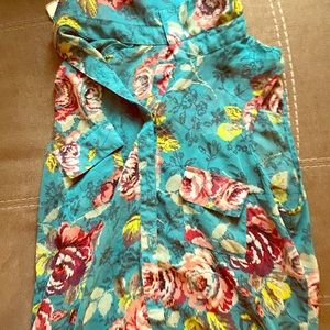 Floral dress shirt